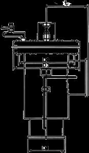 L型立式手摇刷式过滤器