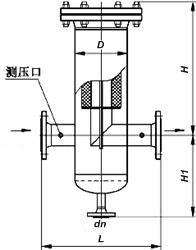 燃气过滤器结构图