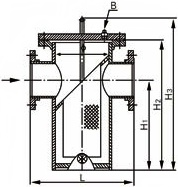 SB14C直通篮式过滤器