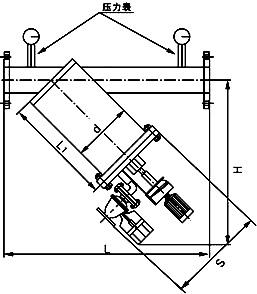电动刷式Y型过滤器