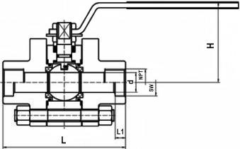 火电站用高温高压球阀