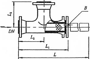 磁性T型过滤器
