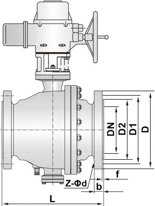 电动喷煤粉球阀