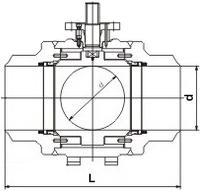钢管焊接球阀
